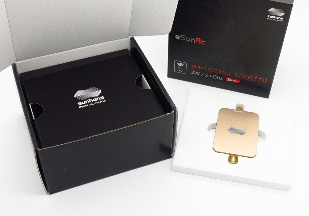 Sunhans 3000mW 2.4Ghz WiFi Signal Booster FPV Video Extended Range Signal Booster