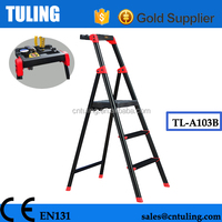 Germany-Technology Aviation aluminum step ladder / 3 Step ladderTL-A103B