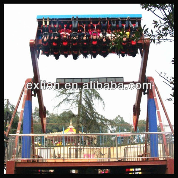 fascinate amusement park attractions top spin big space travel ride