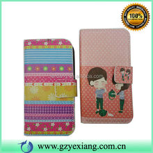 Flip Wallet Leather Case Cover with Stand For IPhone