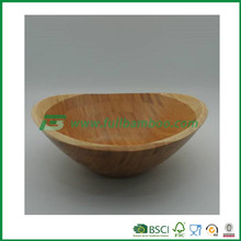 custom bamboo antique fruit bowl