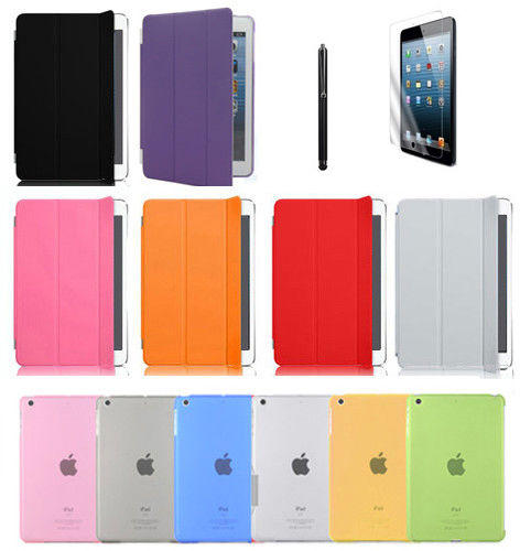 for ipad mini 2 premium leather smart case