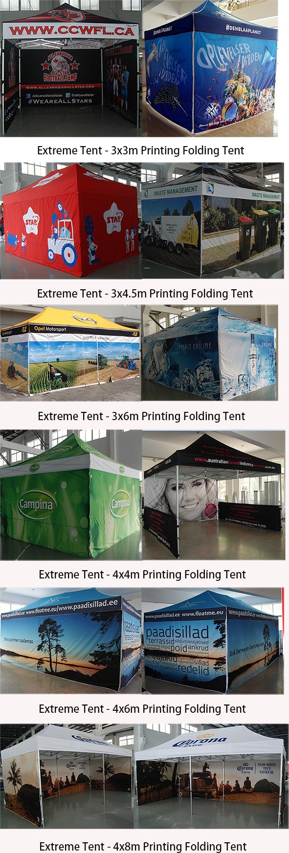 Pop up tentCustom printed folding tent/trade show tent