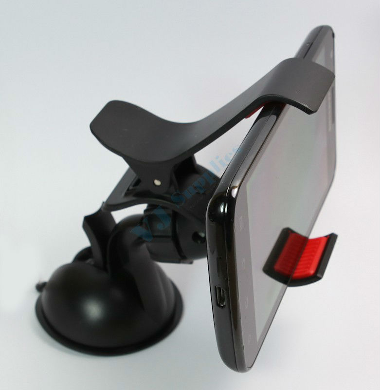 Windshield Car Mount Clip Holder For Cell Phone Gps iPhone 5 4 3 2 1 S2 S3 Note