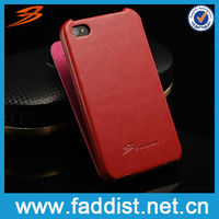 On sale PU phone cover for iphone 4 4s