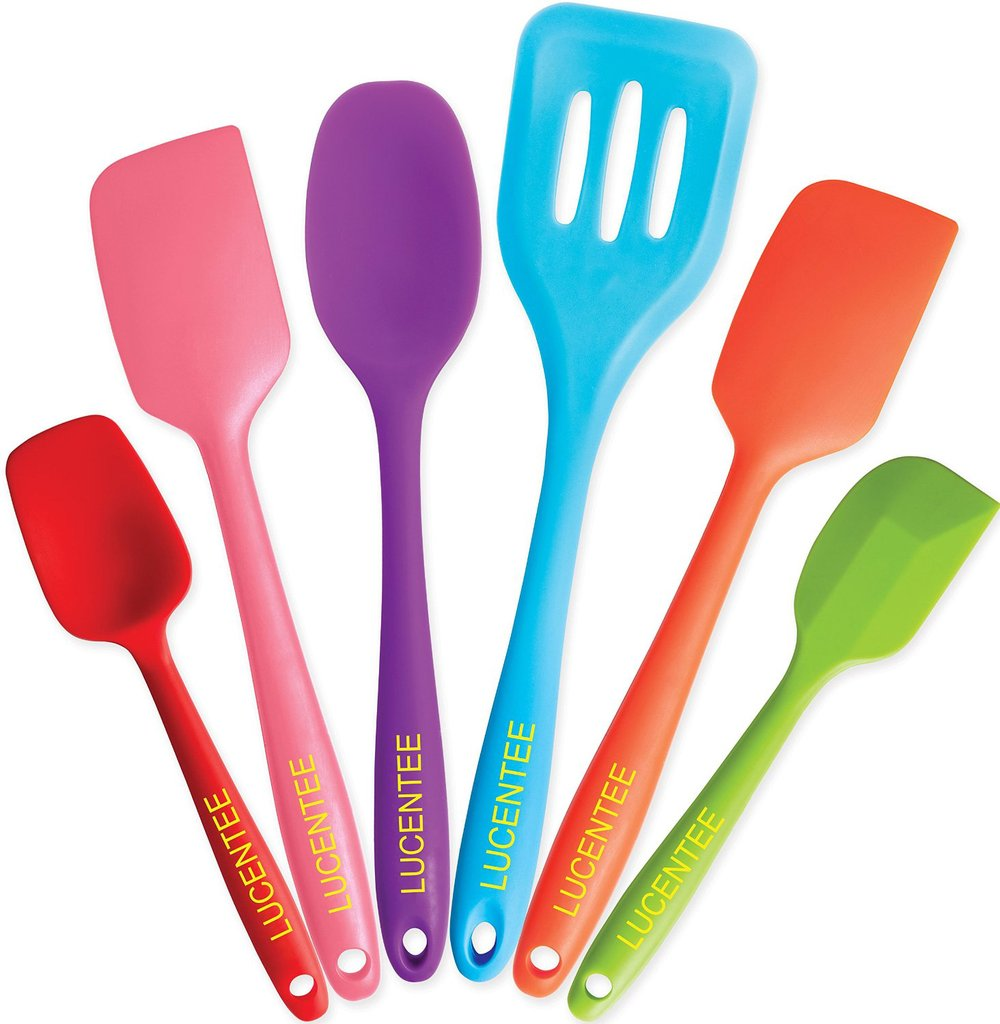 Hot sale food grade non-stick easy clean silicone spatula