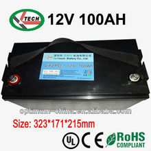 lithium ion battery 12v 50AH-300AH, with deep cycle