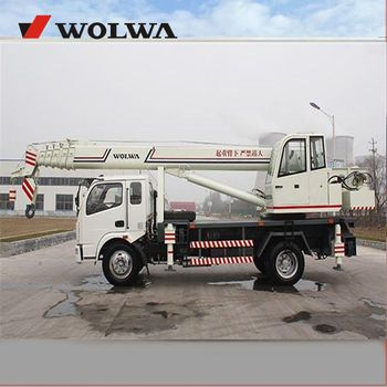 GNQY-C12 12ton Automobile  crane from Chinese manufacturer with liting height 32m