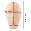Flat Head Face Mannequin for Make up Makeup Practice
