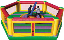 High quality inflatable gladiator joust games/inflatable duel combat for gladiator games