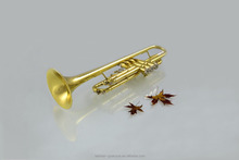 Chinese wholesale trumpets quality brass musical instruments