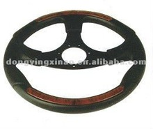 stainless steel boat steering wheel with pvc cover