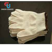 Popular Portable White Cotton Driving Gloves