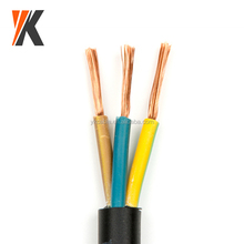 Pricing stranded copper conductor pvc insulation 3 core 2.5mm 1.5mm flexible wire