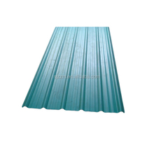 flat sorft color building galvanized roof sheet