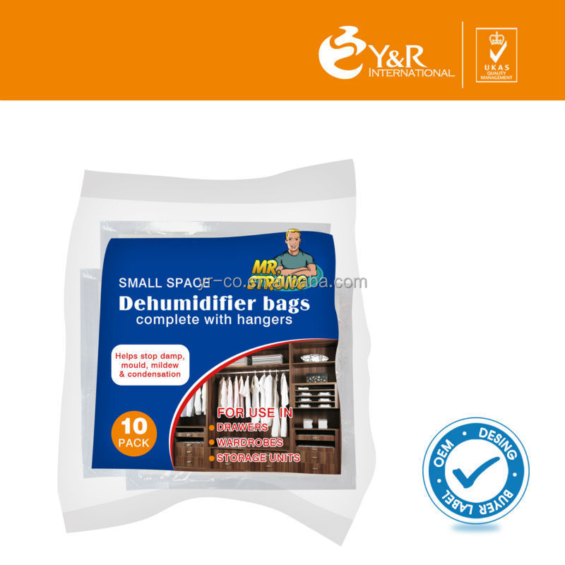 free sample home use chemical dehumidify bag