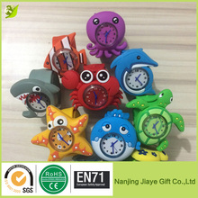Eco-friendly Waterproof Silicone Marine Animal Wristband watch