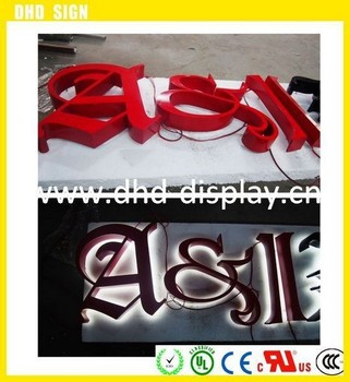 factory price outdoor illuminated channel letters lighted. Black Bedroom Furniture Sets. Home Design Ideas