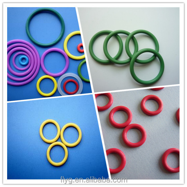 Oil Resistant Rubber O Ring/Silicone O-Ring/Color Rubber O Ring