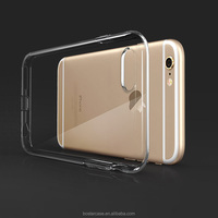 Ultra silm for iphone 6 clear case 4.7 inch transparent TPU cell phone case /bulk cheap Mobile TPU case for Iphone 6