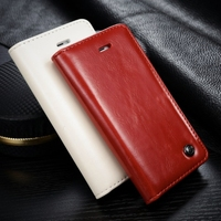 2015 New Arrival Leather Wallet Case for Iphone 5s, CaseMe Filp Cover Case for iPhone 5