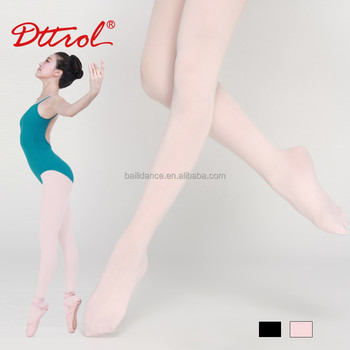 D020000 Dttrol Dance Women Ultra Soft Footed Tights with Gusset