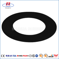 Oil resistant nbr epdm silicone round rubber gasket