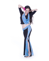 Comfy Belly Dance Training Clothes , Hot Sexy Yoga Clothes , Form-Fittitng Belly Dance Costume