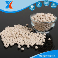 Molecular sieve zeolite 13X used in the O2 producing plant