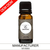 OEM/ODM Myrrh essential oil, 100% pure and natural 10ML suppy private label