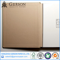Gray Chipboard Paper For Book Cover with Hard Cardboard
