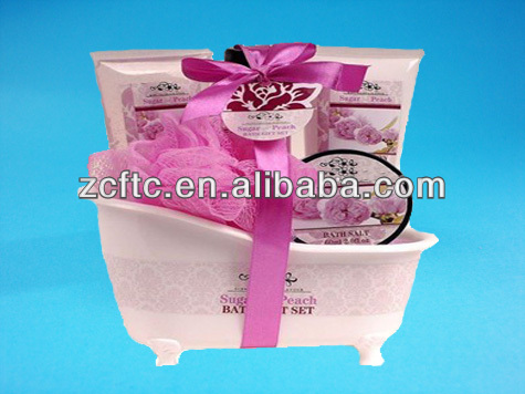 plastic mini bathtub container,bathtub cosmetic packaging