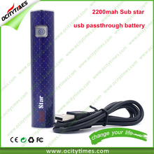 USA max vapor electronic cigarette ego ce4 2000mah ego battery SUB star ego battery 1600mah