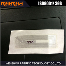 13.56MHz one time use disposable nfc rfid nfc sticker