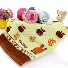100% Cotton Reactive Print Good Price Functional Face Towels Small Bath Towels Promotional