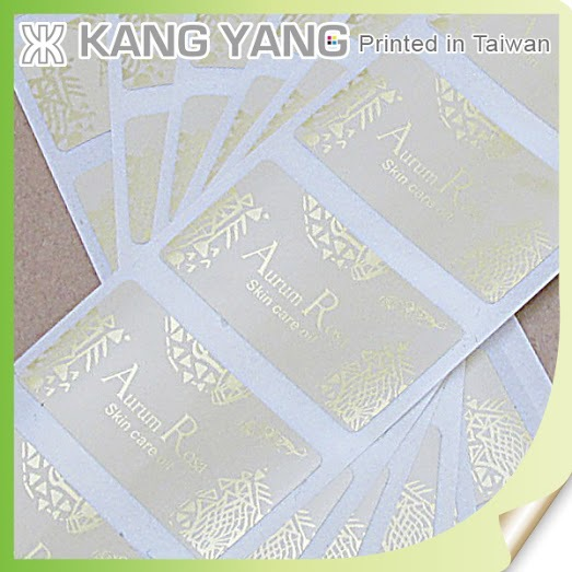 Hot stamp foils, heat transfers, screen/pad printing, stickers