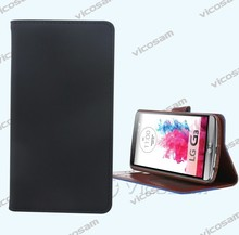 China wallet leather case mobile phone case suppliers for LG G3 case