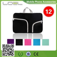 Custom Promotional Neoprene Laptop Sleeve Case Pouch bag for iPad ,Tablet PC B022527(7)