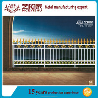 Used cast corrugated aluminum fence designs