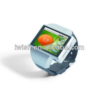 newest colorful quadband smallest mobile phone watch with wifi and health devices