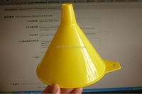 hot sale one pint yellow Plastic funnel