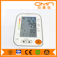 Digital pulse upper arm bp Blood Pressure Monitors meter sphygmomanometer cuff