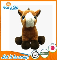 Customized big eyes plush horse toys