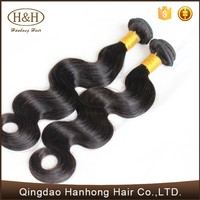 Body Wave Virgin Malaysian Wavy Natural Human Hair Weave Brands