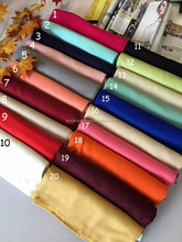 Fashion popular oversize winter lady men unisex plain cashmere scarf with 20colors available
