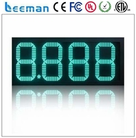 4 digits led countdown timer display days hours minutes seconds led timer ip65 waterproof led gas price digital sign screen