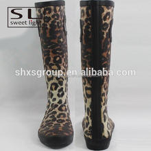 leopard waterproof comfortable high fishing boots