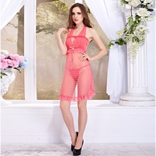 ladies night dresses sexy transparent nightwear for honeymoon