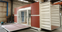 Move-in Strong steel frame Shipping Container Homes/Container House/Container Homes for sale