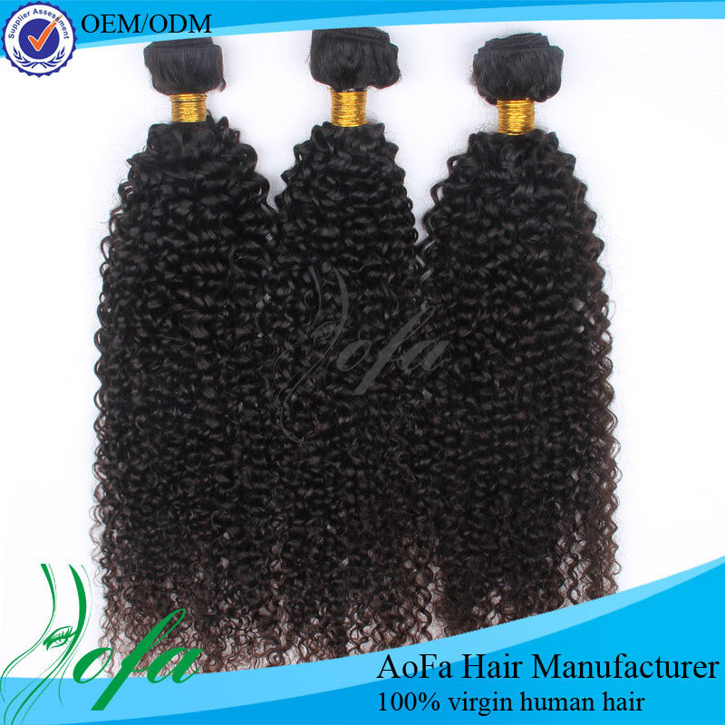 Hot sell different types of curly weave hair